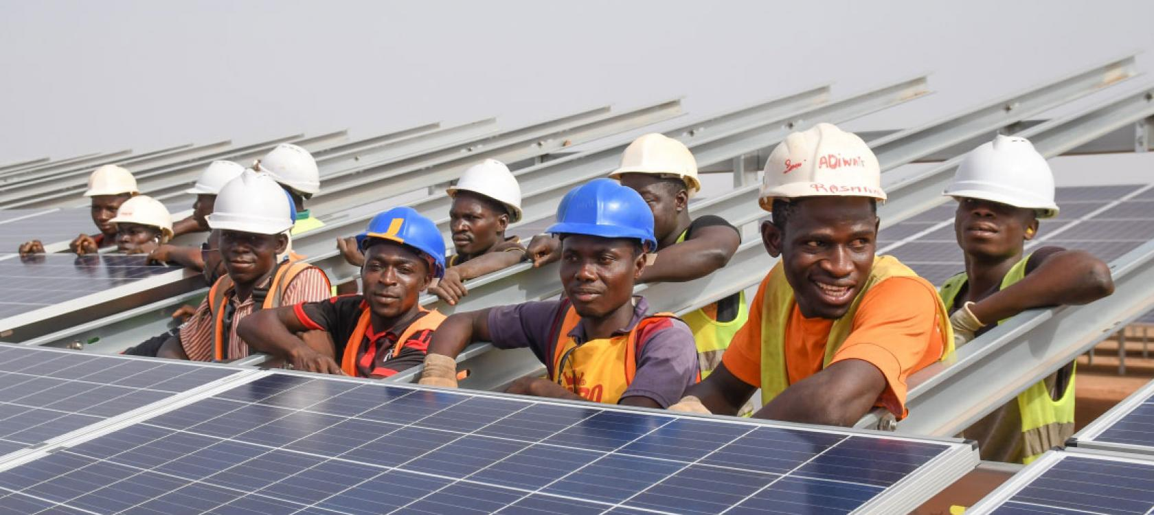 Zagtouli, Burkina Faso's photovoltaic power plant