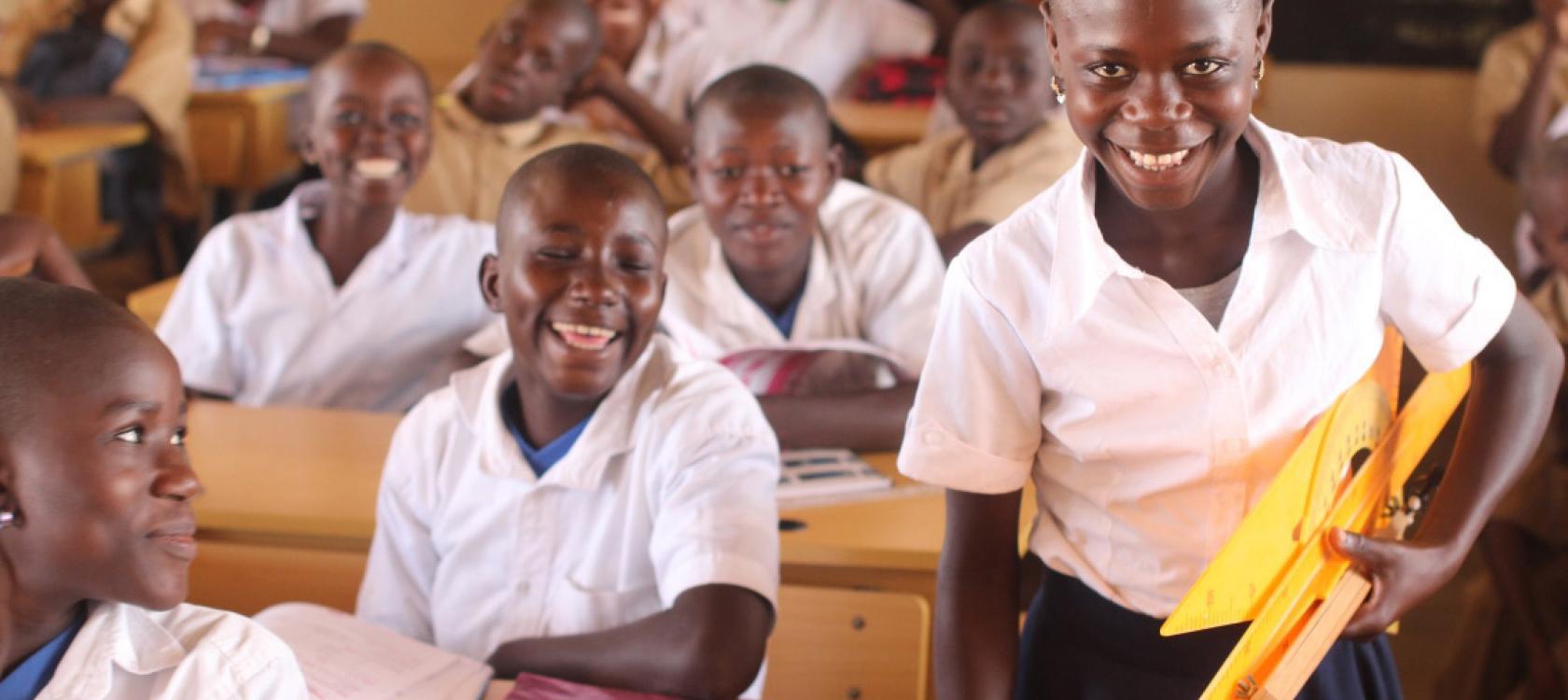 Afrique, école, fille éducation