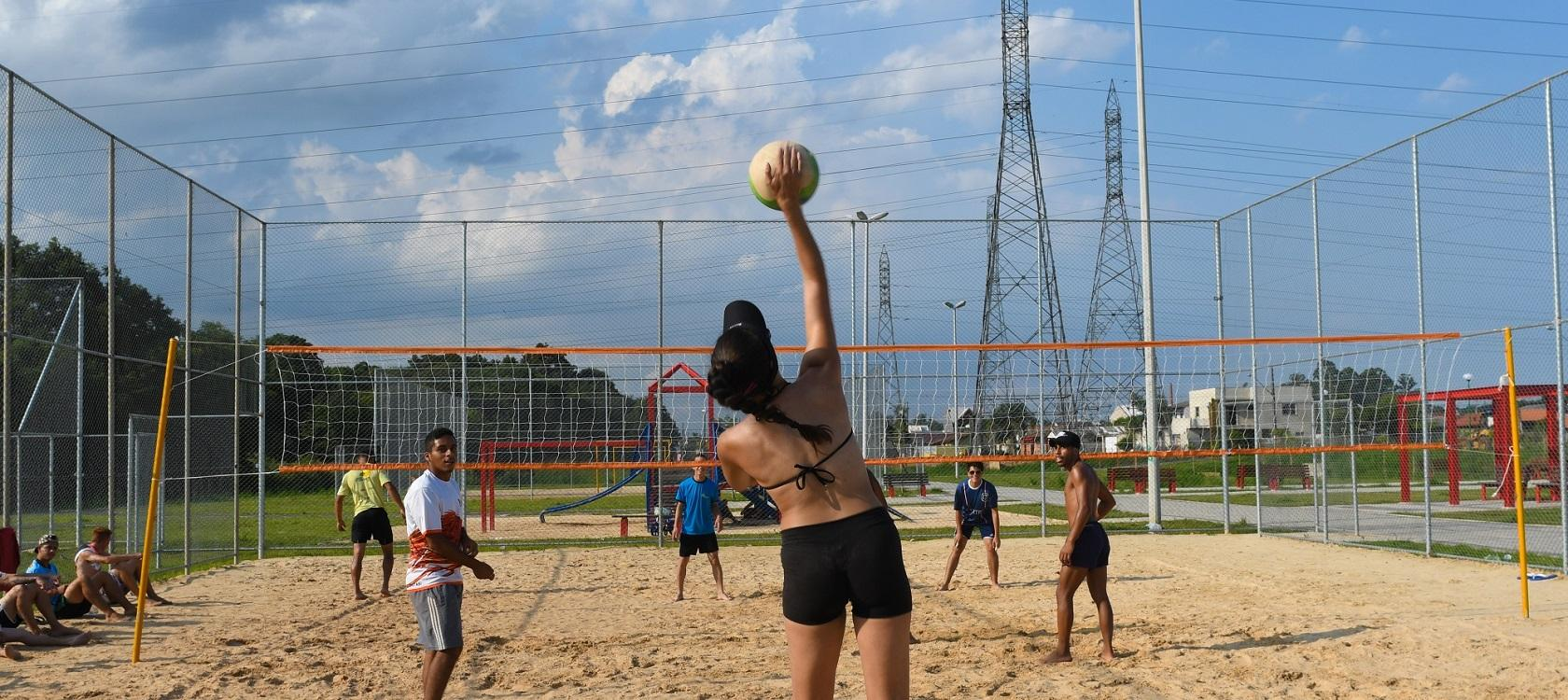 beach volleyball AFD sport development