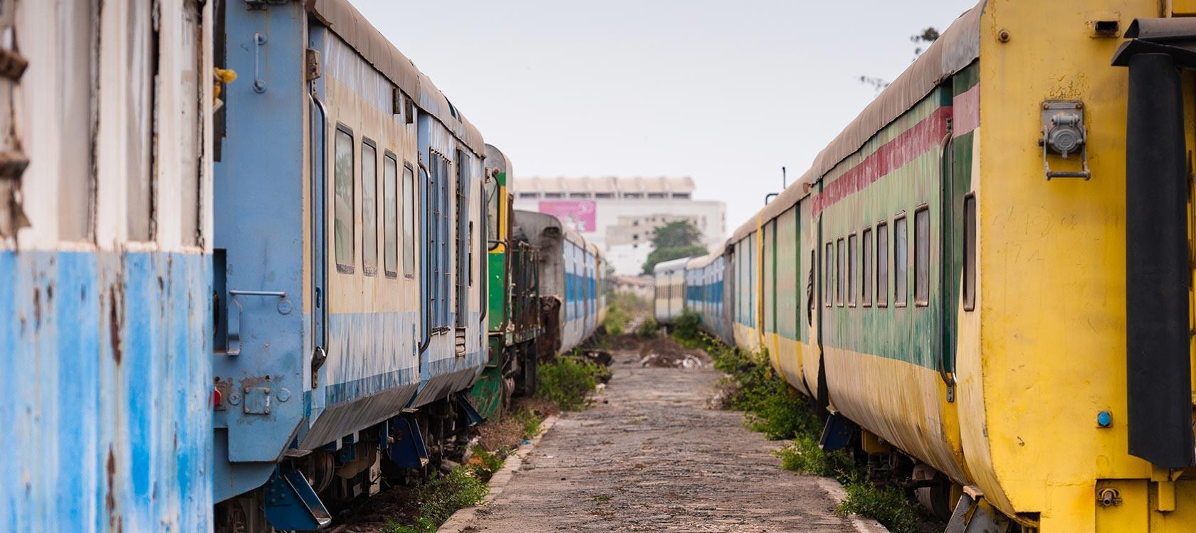 Trains à Dakar, Sénégal