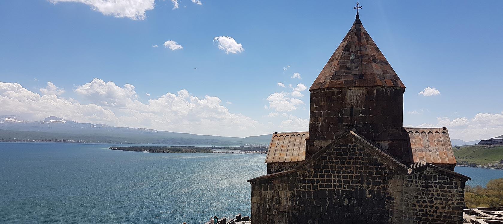Monastère de Sevan, Arménie, l'action de l'AFD en Arménie