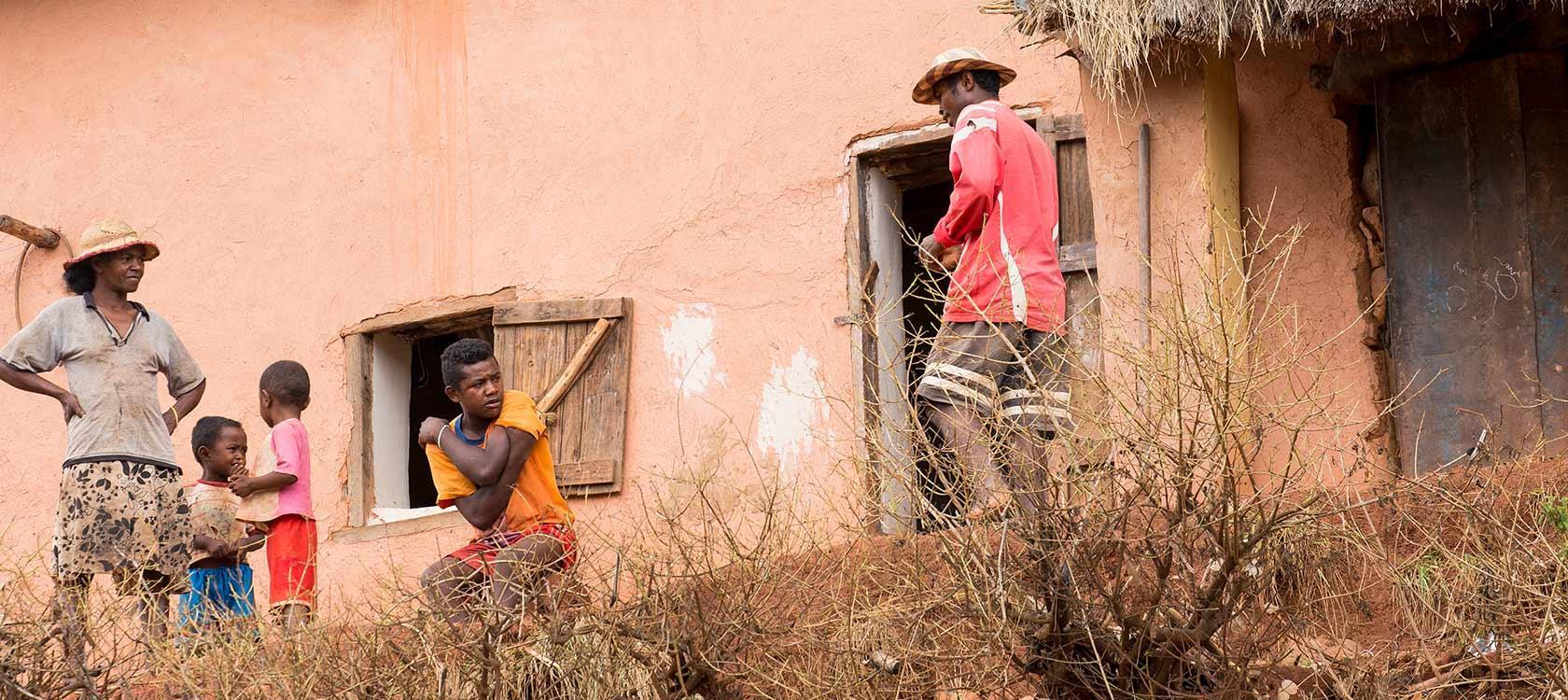 L'AFD soutient un projet mené par l'ONG Agrisud International, afin de développer l'agriculture dans la région Itasy à Madagascar