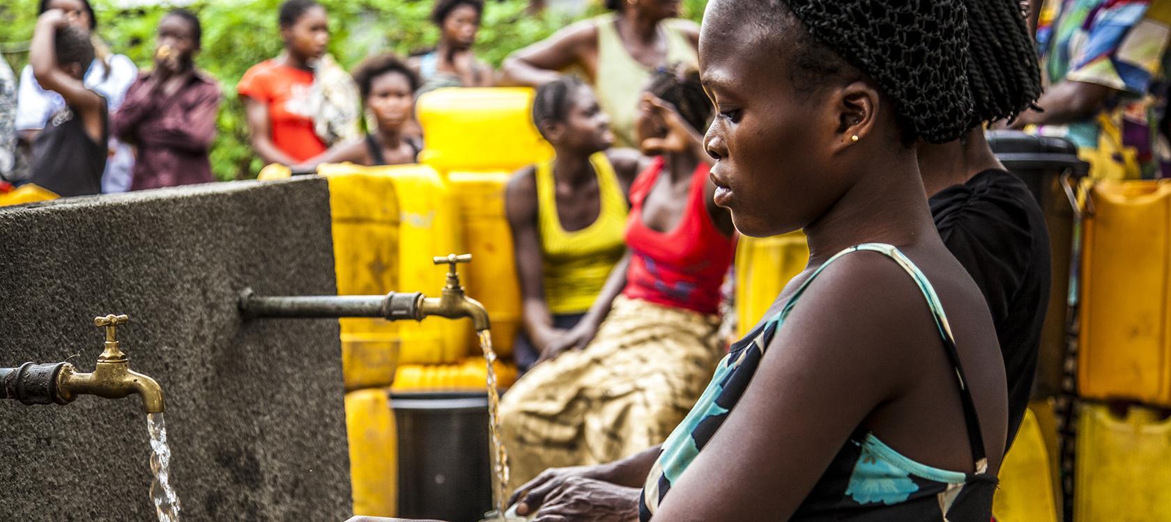 Africa, RDC, water