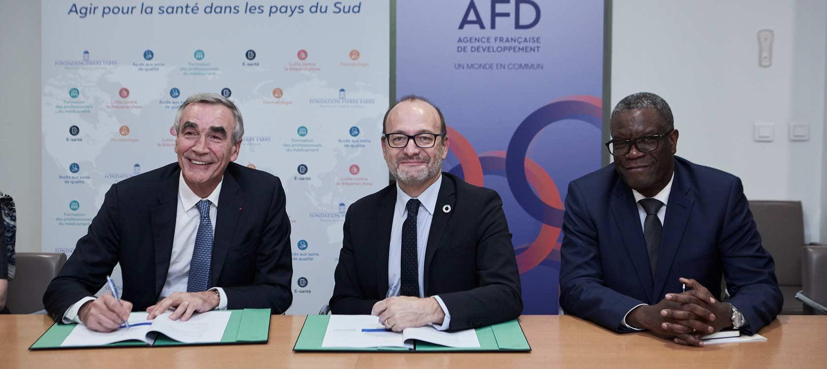 Signature AFD / Fondation Pierre Fabre