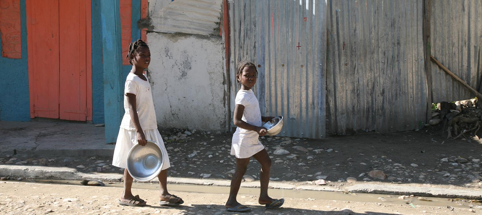 Haïti, enfants