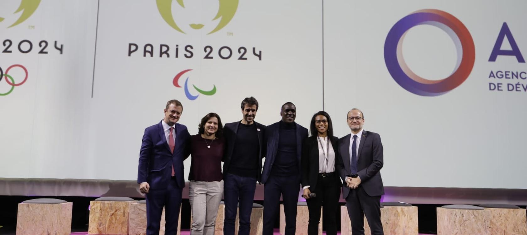 Paris 2024 - AFD, partenariat