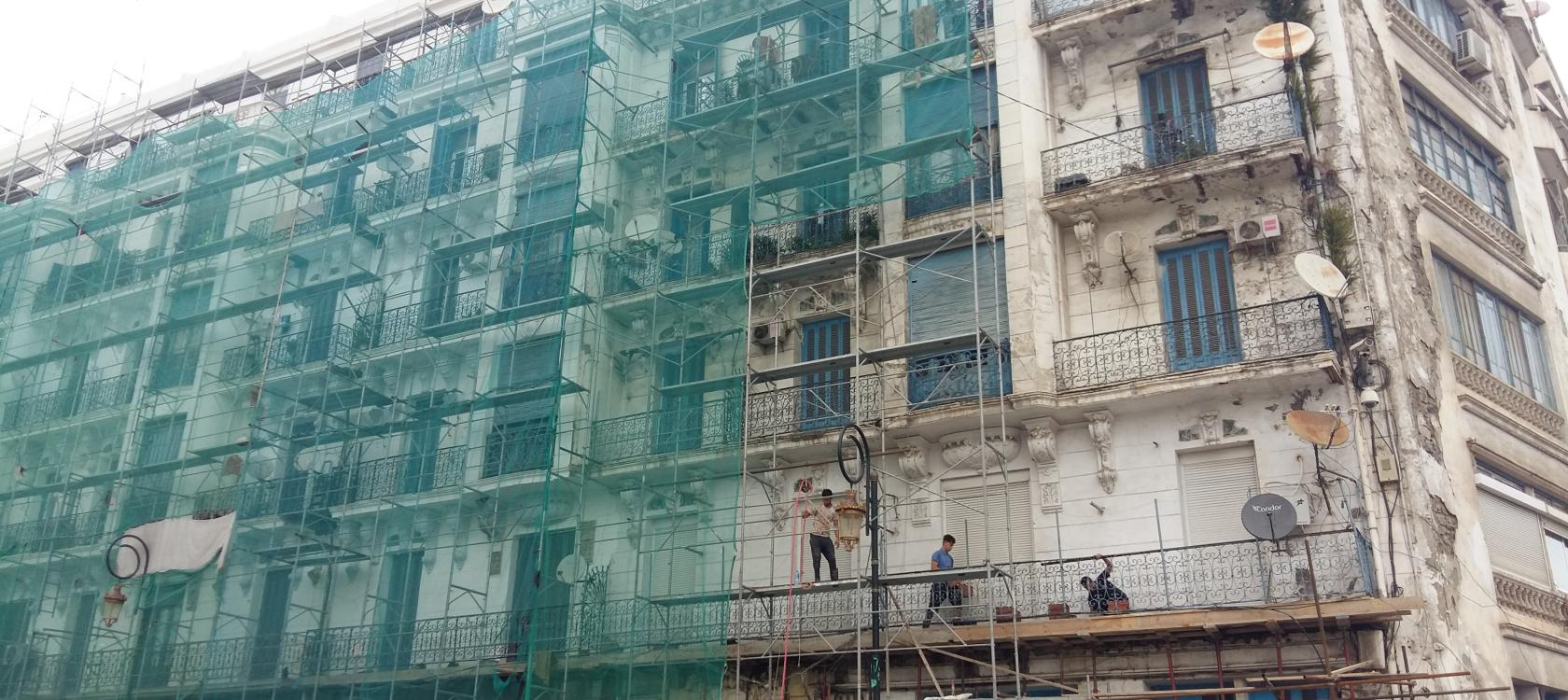 Algérie, Alger, immeuble